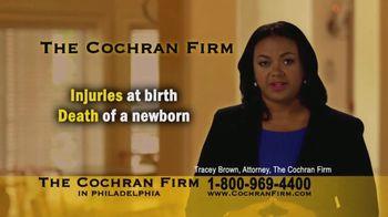 The Cochran Law Firm TV Spot, 'Injuries at Birth' - Thumbnail 1