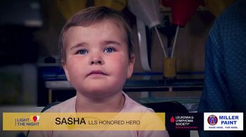 The Leukemia & Lymphoma Society Light the Night TV Spot, 'Sasha: LLS Hero'