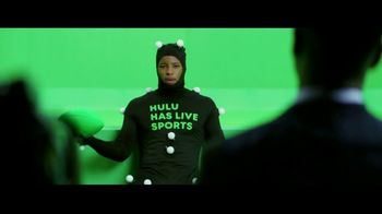Hulu TV Spot, 'Hulu Has Live Sports: The Video Game' Featuring Saquon Barkley - Thumbnail 6