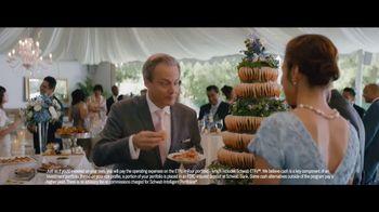Charles Schwab Intelligent Portfolios Premium TV Spot, 'Beautiful Wedding' - Thumbnail 3