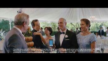Charles Schwab Intelligent Portfolios Premium TV Spot, 'Beautiful Wedding' - Thumbnail 6
