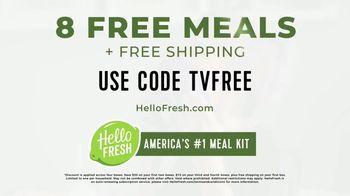 HelloFresh TV Spot, 'Fresh Ingredients: Eight Free Meals' - Thumbnail 10