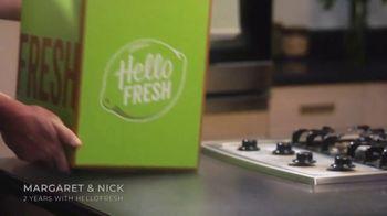 HelloFresh TV Spot, 'Margaret & Nick: Eight Free Meals' - Thumbnail 1