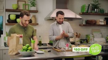 HelloFresh TV Spot, 'Ryan & Ramsey: Eight Free Meals' - Thumbnail 3