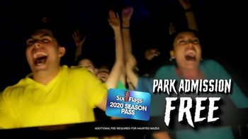 Six Flags Fright Fest TV Spot, '2020 Season Pass'