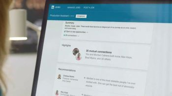 LinkedIn TV Spot, 'Post a Job: Diliana' - Thumbnail 7