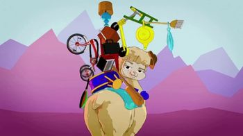 Hackin' Packin' Alpaca TV Spot, 'Pack Your Pieces'
