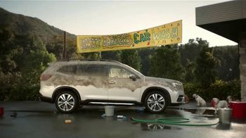 Subaru Ascent TV Spot, 'Dog Tested: Car Wash' [T1] - 5161 commercial airings