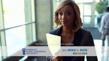 American InterContinental University TV Spot, 'We Challenge the World' - Thumbnail 1