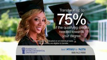 American InterContinental University TV Spot, 'We Challenge the World' - Thumbnail 5