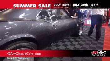 GAA Classic Cars Summer Sale TV Spot, '650 Classic & Muscle Cars' - Thumbnail 1