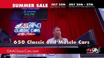 GAA Classic Cars Summer Sale TV Spot, '650 Classic & Muscle Cars' - Thumbnail 6