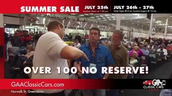 GAA Classic Cars Summer Sale TV Spot, '650 Classic & Muscle Cars' - Thumbnail 7