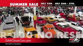 GAA Classic Cars Summer Sale TV Spot, '650 Classic & Muscle Cars' - Thumbnail 8