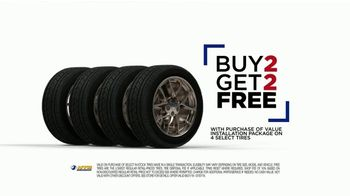 National Tire & Battery TV Spot, 'Value Installation Package: Buy Two, Get Two'