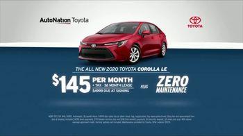 AutoNation July 4th Savings TV Spot, '2019 Corolla LE'