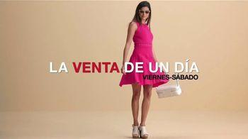 Macy's La Venta de Un Día TV Spot, 'Ofertas del día: joyería fina, juegos de edredones' [Spanish] - Thumbnail 1