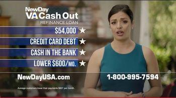 NewDay USA VA Cash Out Refinance Loan TV Spot, 'It All Takes Cash' - Thumbnail 6