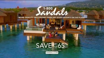 Sandals Resorts TV Spot, 'Where Love Is All You Need' - Thumbnail 9