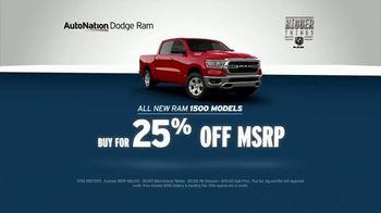 AutoNation Bigger Things Sales Event TV Spot, 'Reputation Score: Ram 1500s 25 Percent Off' - Thumbnail 5