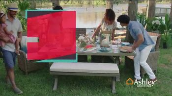 Ashley HomeStore Stars & Stripes Outdoor Event TV Spot, 'Dining and Entertaining' - Thumbnail 2