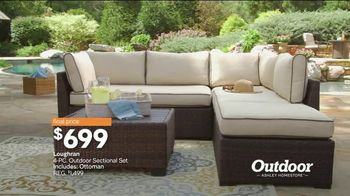 Ashley HomeStore Stars & Stripes Outdoor Event TV Spot, 'Dining and Entertaining' - Thumbnail 5