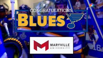 Maryville University TV Spot, 'Road to Gloria: Congratulations Blues'