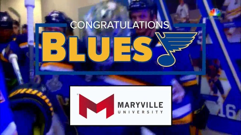 Maryville University TV Commercial, 'Road to Gloria: Congratulations Blues'