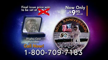National Collector's Mint Apollo 11 Half Dollar TV Spot, '50th Anniversary' - Thumbnail 10