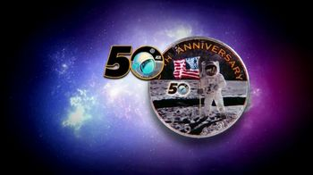 National Collector's Mint Apollo 11 Half Dollar TV Spot, '50th Anniversary' - Thumbnail 5