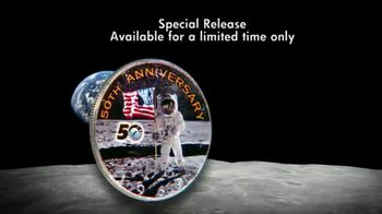National Collector's Mint Apollo 11 Half Dollar TV Spot, '50th Anniversary' - Thumbnail 6
