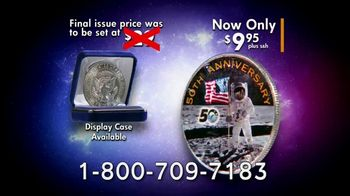 National Collector's Mint Apollo 11 Half Dollar TV Spot, '50th Anniversary' - Thumbnail 7