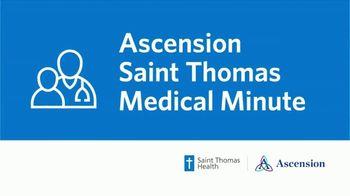 Ascension Health Saint Thomas TV Spot, 'Medical Minute: History of Cancer' - Thumbnail 1