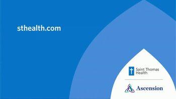 Ascension Health Saint Thomas TV Spot, 'Medical Minute: History of Cancer' - Thumbnail 7