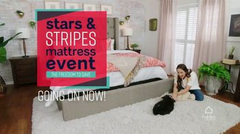 Ashley HomeStore Stars & Stripes Mattress Event TV Spot, 'Zero Percent Interest' Song by Midnight Riot - Thumbnail 1