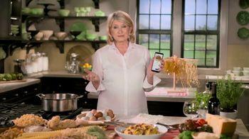 Postmates TV Spot, 'How to Make Spaghetti' Featuring Martha Stewart - 26 commercial airings