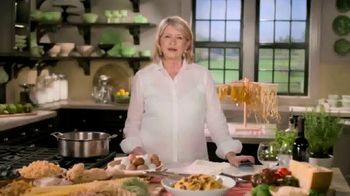 Postmates TV Spot, 'How to Make Spaghetti' Featuring Martha Stewart - Thumbnail 1