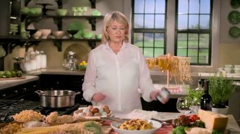 Postmates TV Spot, 'How to Make Spaghetti' Featuring Martha Stewart - Thumbnail 2