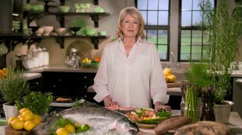 Postmates TV Spot, 'How to Make Grilled Salmon' Featuring Martha Stewart - Thumbnail 1