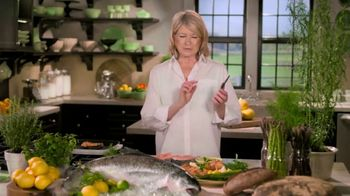Postmates TV Spot, 'How to Make Grilled Salmon' Featuring Martha Stewart - Thumbnail 2