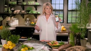 Postmates TV Spot, 'How to Make Grilled Salmon' Featuring Martha Stewart - 28 commercial airings