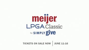 LPGA TV Spot, 'Meijer LPGA Classic for Simply Give: Turn Golf into Meals' - Thumbnail 9