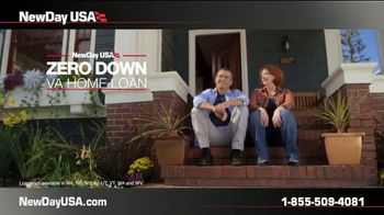 NewDay USA Zero Down VA Home Loan TV Spot, 'Your Service Is Your Down Payment' - Thumbnail 2