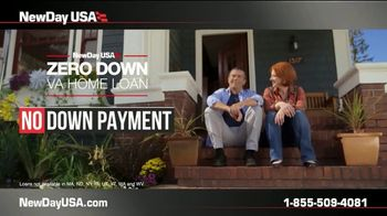NewDay USA Zero Down VA Home Loan TV Spot, 'Your Service Is Your Down Payment' - Thumbnail 3