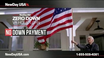 NewDay USA Zero Down VA Home Loan TV Spot, 'Your Service Is Your Down Payment' - Thumbnail 4