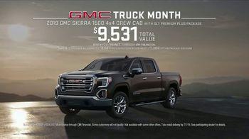 GMC Truck Month TV Spot, 'Jaw Drop' [T2] - Thumbnail 5