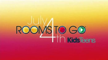 Rooms to Go Kids & Teens TV Spot, 'July 4th Hot Buys: Twin Bookcase Bed' - Thumbnail 2