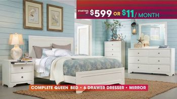 Rooms to Go TV Spot, 'July 4th Hot Buys: Five-Piece Bedroom' - Thumbnail 4