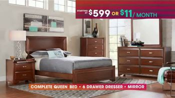 Rooms to Go TV Spot, 'July 4th Hot Buys: Five-Piece Bedroom' - Thumbnail 5
