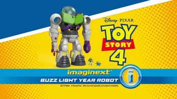 Imaginext Disney Pixar Toy Story 4 Buzz Lightyear Robot TV Spot, 'Trouble' - Thumbnail 8